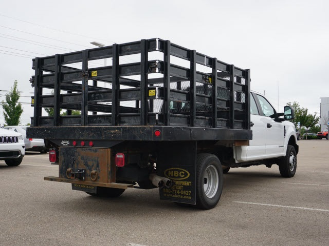2019 Ford F-350 Crew Cab DRW 4x4, Stake Bed #BP3549 - photo 1