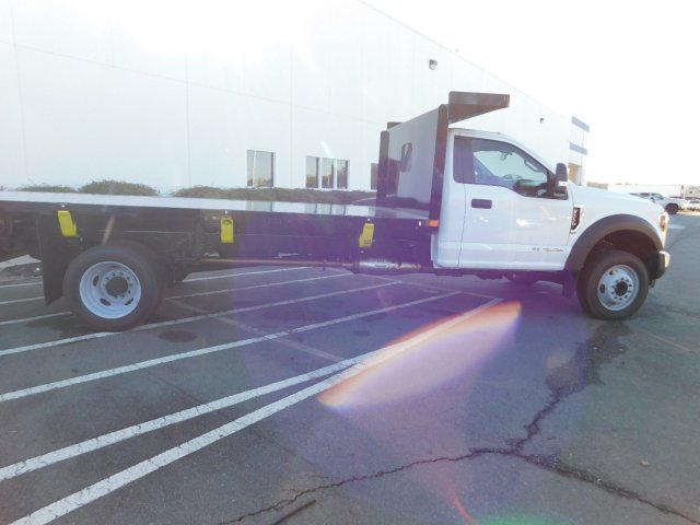 2018 F-550 Regular Cab DRW 4x2,  PJ's Platform Body #T188164 - photo 4