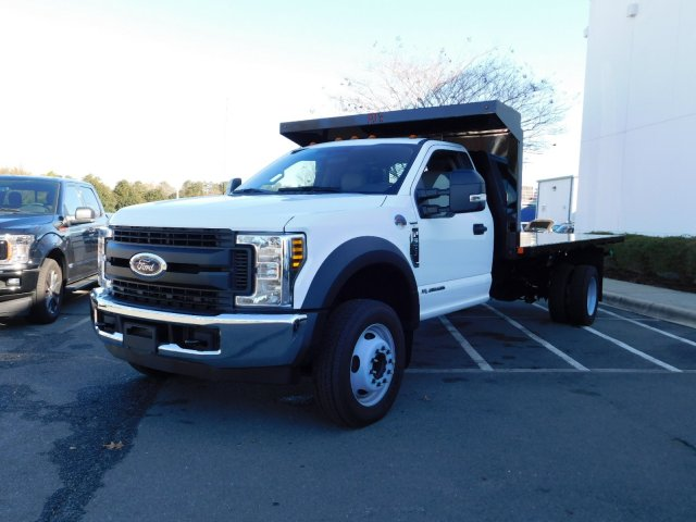 2018 F-550 Regular Cab DRW 4x2,  PJ's Platform Body #T188164 - photo 1
