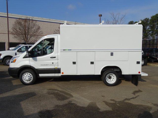 2019 Transit 350 HD DRW 4x2,  Reading Aluminum CSV Service Utility Van #T196060 - photo 7