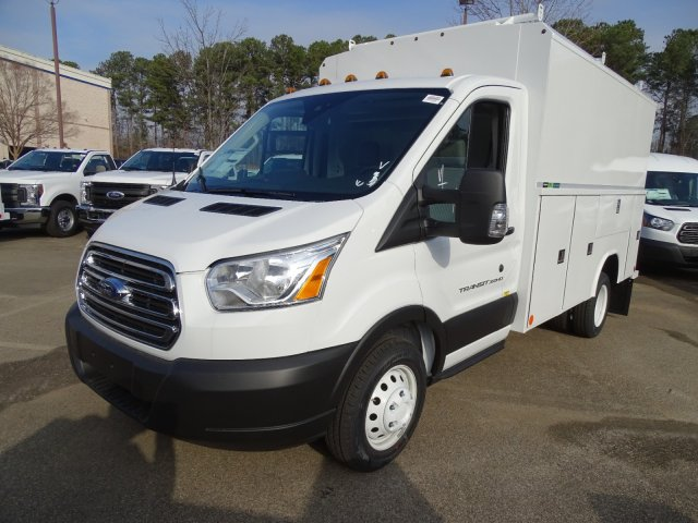 2019 Transit 350 HD DRW 4x2,  Reading Aluminum CSV Service Utility Van #T196060 - photo 1
