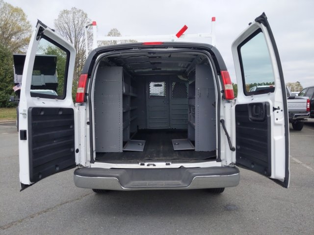 2015 GMC Savana 2500 4x2, Upfitted Cargo Van #T196132A - photo 1