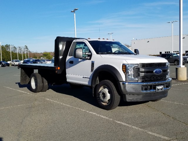 2019 F-450 Regular Cab DRW 4x4,  Platform Body #T198066 - photo 5