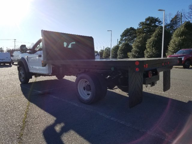 2019 F-450 Regular Cab DRW 4x4,  Double A Platform Body #T198066 - photo 2