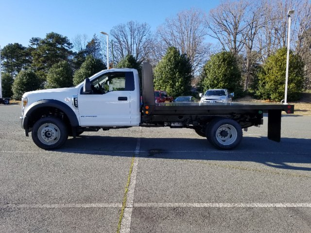 2019 F-450 Regular Cab DRW 4x4,  Double A Platform Body #T198066 - photo 8