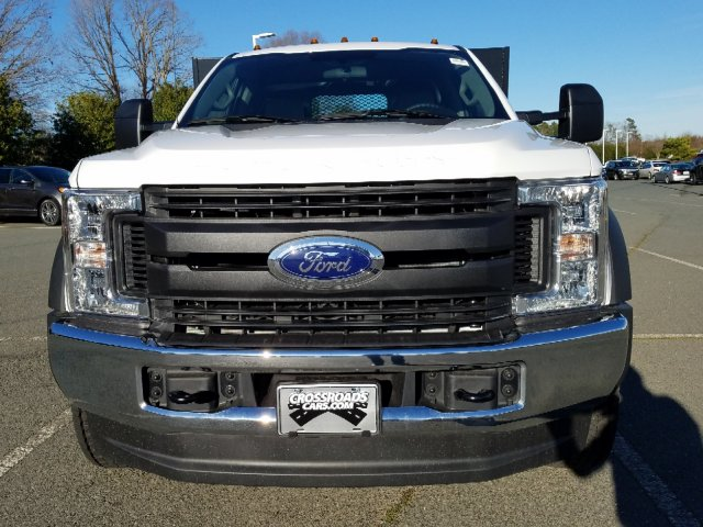 2019 F-450 Regular Cab DRW 4x4,  Double A Platform Body #T198066 - photo 9