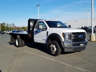 2019 F-450 Regular Cab DRW 4x4,  Double A Platform Body #T198066 - photo 5