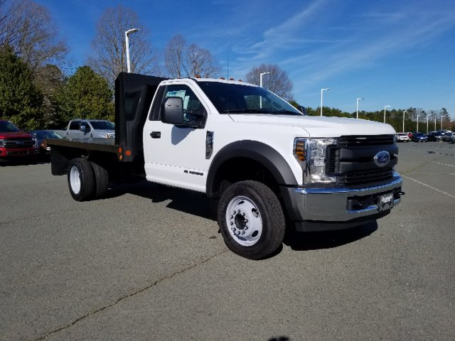 2019 F-450 Regular Cab DRW 4x2, Double A Platform Body #T198067 - photo 5