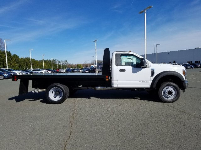 2019 F-450 Regular Cab DRW 4x2,  Double A Platform Body #T198067 - photo 7