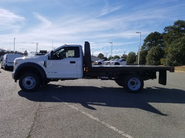 2019 F-450 Regular Cab DRW 4x2,  Double A Platform Body #T198067 - photo 3
