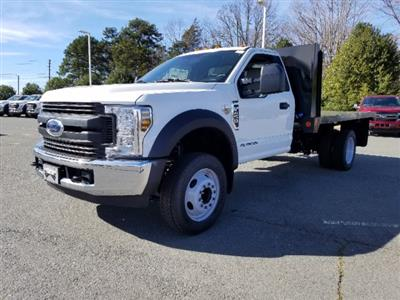 2019 F-450 Regular Cab DRW 4x2,  Double A Platform Body #T198067 - photo 1