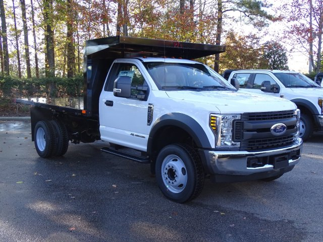 2019 F-450 Regular Cab DRW 4x2,  PJ's Platform Body #T198088 - photo 1
