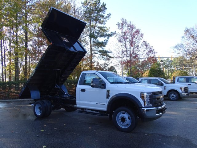 2019 F-450 Regular Cab DRW 4x2,  PJ's Platform Body #T198088 - photo 33