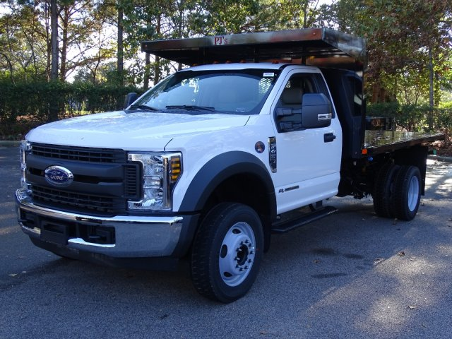 2019 F-450 Regular Cab DRW 4x2,  PJ's Platform Body #T198088 - photo 7