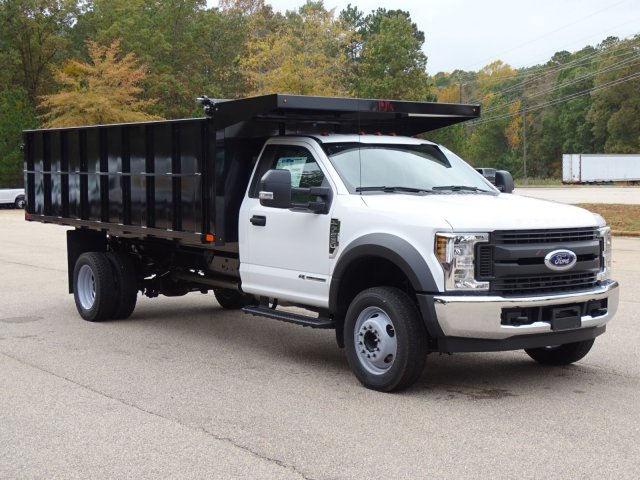 2019 F-550 Regular Cab DRW 4x2,  PJ's Landscape Dump #T198089 - photo 1