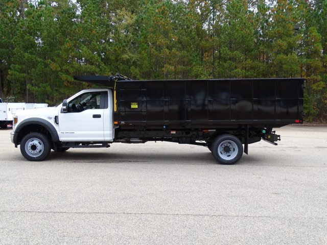 2019 F-550 Regular Cab DRW 4x2,  PJ's Landscape Dump #T198089 - photo 5