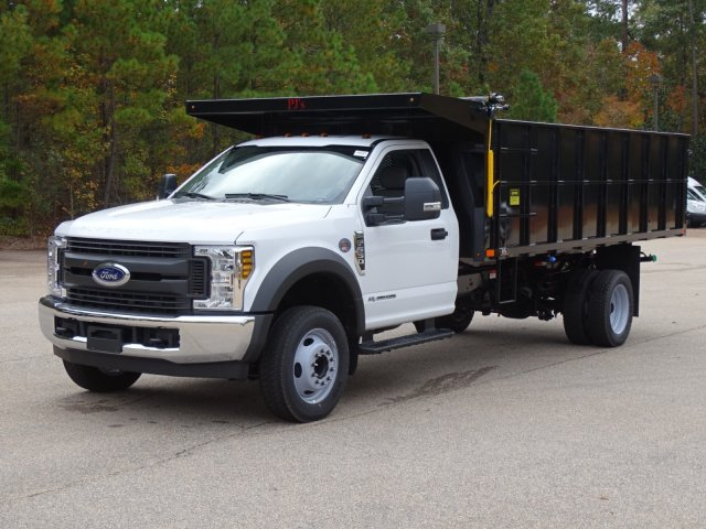 2019 F-550 Regular Cab DRW 4x2,  PJ's Landscape Dump #T198089 - photo 6