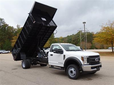 2019 F-550 Regular Cab DRW 4x2,  PJ's Landscape Dump #T198089 - photo 29