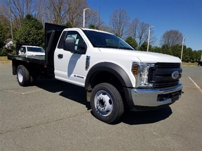 2019 F-550 Regular Cab DRW 4x2,  Platform Body #T198090 - photo 3
