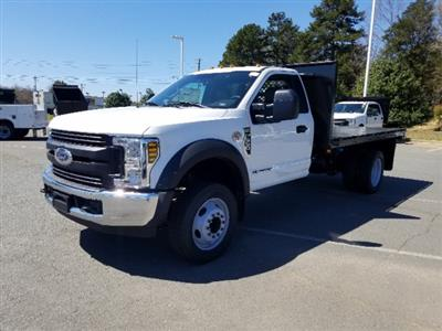 2019 F-550 Regular Cab DRW 4x2,  Platform Body #T198090 - photo 1