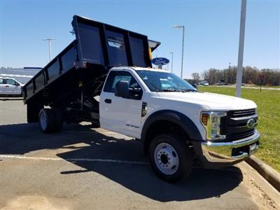 2019 F-450 Regular Cab DRW 4x2,  Double A Dump Body #T198106 - photo 4