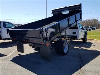 2019 F-450 Regular Cab DRW 4x2,  Double A Dump Body #T198106 - photo 5