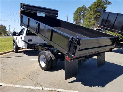 2019 F-450 Regular Cab DRW 4x2,  Double A Dump Body #T198106 - photo 2