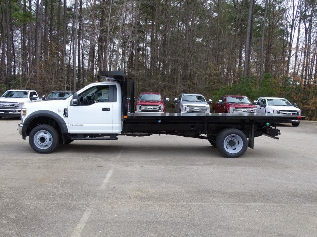 2019 F-550 Regular Cab DRW 4x2,  PJ's Platform Body #T198122 - photo 4