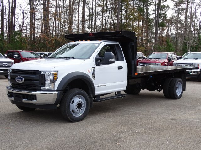 2019 F-550 Regular Cab DRW 4x2,  PJ's Platform Body #T198122 - photo 1