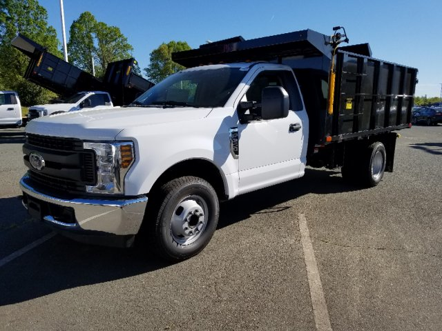 2019 F-350 Regular Cab DRW 4x2,  PJ's Landscape Dump #T198132 - photo 1