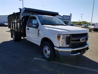 2019 F-350 Regular Cab DRW 4x2,  PJ's Landscape Dump #T198132 - photo 3