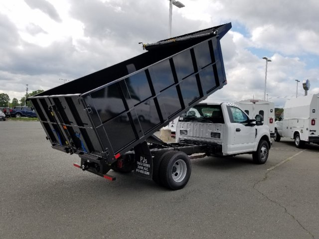 2019 F-350 Regular Cab DRW 4x2,  PJ's Landscape Dump #T198144 - photo 5