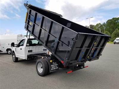 2019 F-350 Regular Cab DRW 4x2,  PJ's Landscape Dump #T198144 - photo 2