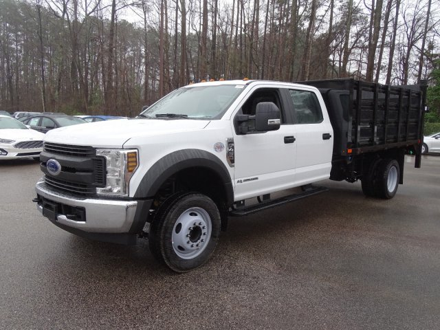 2019 F-450 Crew Cab DRW 4x2,  PJ's Stake Bed #T198148 - photo 3