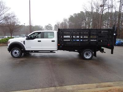 2019 F-450 Crew Cab DRW 4x2,  PJ's Stake Bed #T198148 - photo 2