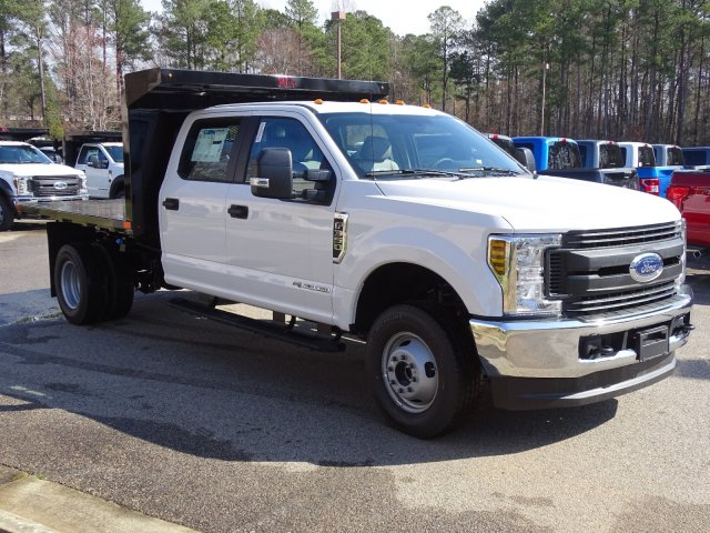 2019 F-350 Crew Cab DRW 4x4,  PJ's Platform Body #T198161 - photo 3