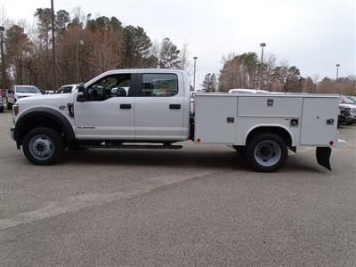 2019 F-550 Crew Cab DRW 4x4,  Reading SL Service Body #T198174 - photo 7