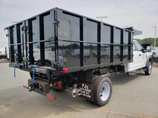 2019 F-550 Crew Cab DRW 4x2,  PJ's Landscape Dump #T198201 - photo 4