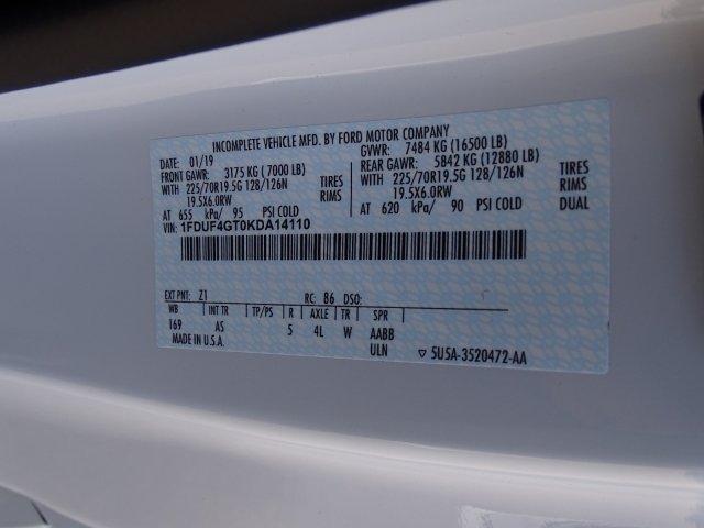 2019 F-450 Regular Cab DRW 4x2, Reading Marauder SL Dump Body #T198202 - photo 40