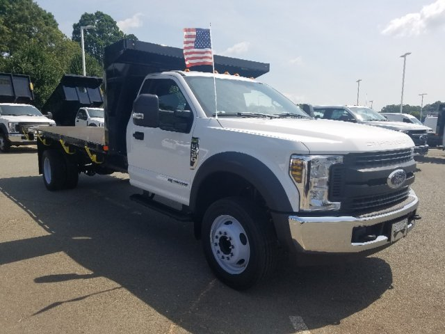 2019 F-550 Regular Cab DRW 4x2,  PJ's Platform Body #T198242 - photo 1