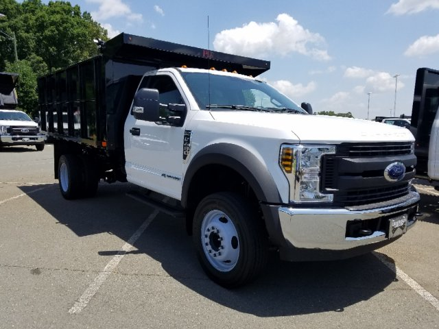 2019 F-450 Regular Cab DRW 4x2,  PJ's Landscape Dump #T198243 - photo 3