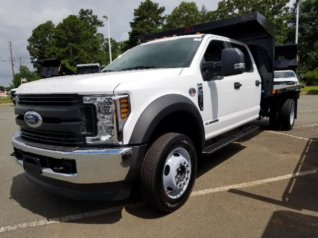 2019 F-550 Crew Cab DRW 4x4,  PJ's Platform Body #T198244 - photo 1