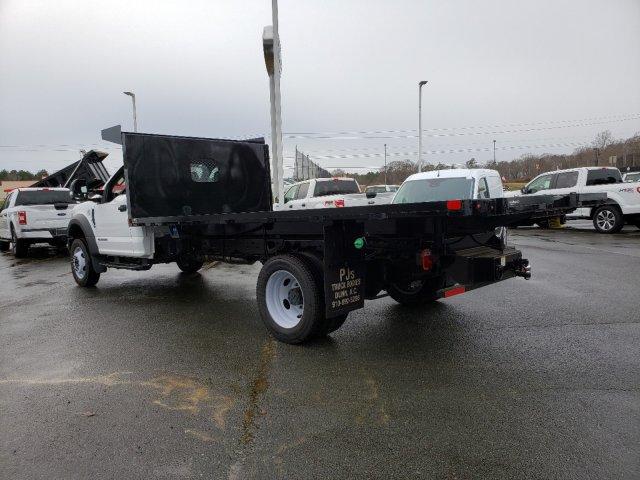 2019 Ford F-550 Regular Cab DRW RWD, PJ's Platform Body #T198316 - photo 2
