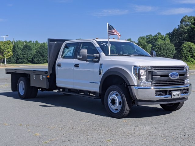 2019 Ford F-550 Crew Cab DRW RWD, Eddie's Welding, Inc. Platform Body #T198369 - photo 5