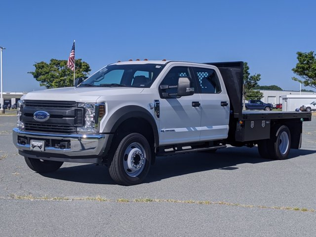 2019 Ford F-550 Crew Cab DRW RWD, Eddie's Welding, Inc. Platform Body #T198369 - photo 1