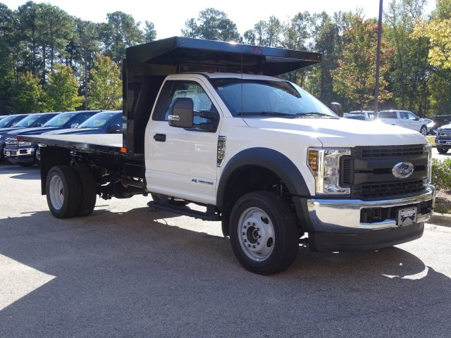 2019 F-450 Regular Cab DRW 4x4, PJ's Platform Body #T198416 - photo 3