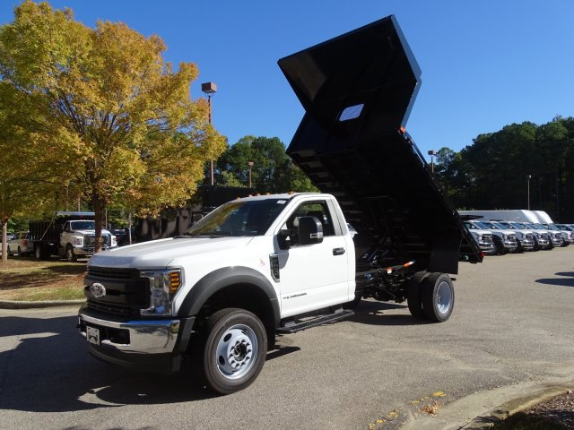 2019 F-450 Regular Cab DRW 4x4, PJ's Platform Body #T198416 - photo 33