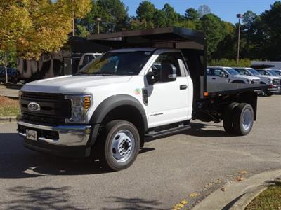 2019 F-450 Regular Cab DRW 4x4, PJ's Platform Body #T198416 - photo 1