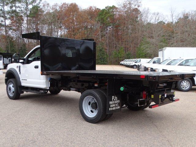 2019 F-450 Regular Cab DRW 4x4, Platform Body #T198454 - photo 1