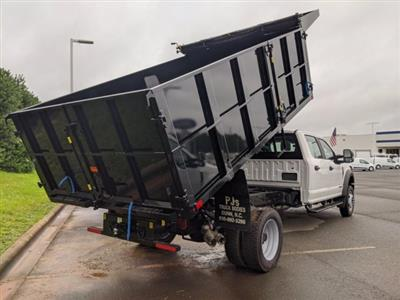 2019 Ford F-550 Crew Cab DRW 4x4, PJ's Landscape Dump #T198465 - photo 4